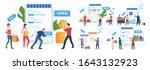 online shop special offer set....   Shutterstock .eps vector #1643132923