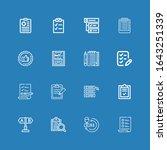 editable 16 questionnaire icons ...