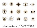 evil eyes collection....   Shutterstock .eps vector #1643287930