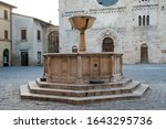 Main Square Of Bevagna With...