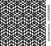 seamless black and white... | Shutterstock .eps vector #164330840
