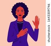 African Woman Swears An Oath....