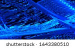 Abstract Background Blue ...