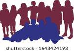 all children together ...   Shutterstock .eps vector #1643424193