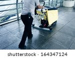 cleaning machine | Shutterstock . vector #164347124