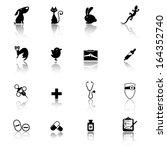 vet icons | Shutterstock .eps vector #164352740