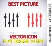 slider vector icon . lorem...