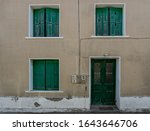 Traditional Greek Building With ...