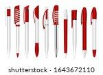 realistic 3d vector plastic...   Shutterstock .eps vector #1643672110
