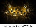 Glowing Golden Lights Garland...
