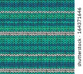 Seamless Pattern With Aqua Blue ...