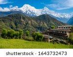 Beautiful View Of Annapurna...