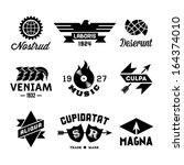 vintage labels with vinyl  gear ...