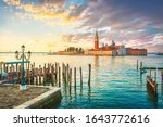 Venice Lagoon At Sunrise  San...