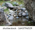 Small Water Stream At Ravine O...