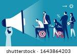marketing. education. business... | Shutterstock .eps vector #1643864203