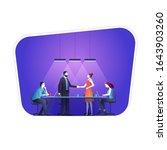 business concept vector...   Shutterstock .eps vector #1643903260