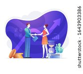 when the meeting is over ...   Shutterstock .eps vector #1643903386