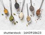 Various Seeds Assortment On...