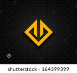 abstract square element | Shutterstock .eps vector #164399399