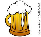 brew   a cartoon illustration... | Shutterstock .eps vector #1644034360