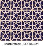 a vector simple grid bicolor ... | Shutterstock .eps vector #164403824