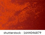 red aged grainy messy template. ... | Shutterstock .eps vector #1644046879