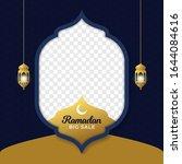 ramadan big sale social media... | Shutterstock .eps vector #1644084616