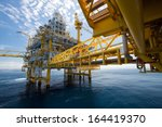 Oil And Gas Platform In The...