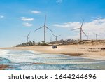 Wind Turbines Generators Farm ...