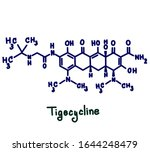 tigecycline is an antibiotic... | Shutterstock . vector #1644248479