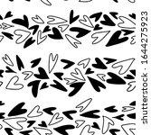 seamless pattern of horizontal... | Shutterstock .eps vector #1644275923