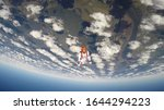 entertainment. skydiving is a...   Shutterstock . vector #1644294223