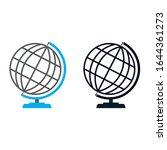 global earth world globe icon...