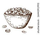 hand drawn illustration of... | Shutterstock .eps vector #1644391993