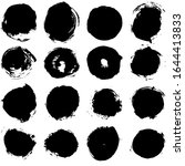 set of vector grunge... | Shutterstock .eps vector #1644413833