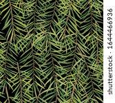seamless pattern  watercolor...   Shutterstock . vector #1644466936
