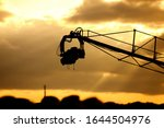Tv Camera On A Crane On Outdoor ...