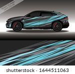 car wrap decal design vector ...   Shutterstock .eps vector #1644511063