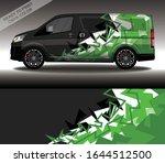 car wrap decal design vector ...   Shutterstock .eps vector #1644512500