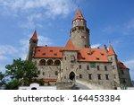 bouzov castle  bouzov   olomouc ... | Shutterstock . vector #164453384