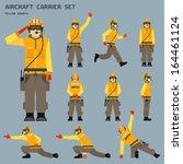 Aircraft carrier shooter signals