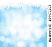 abstract christmas background... | Shutterstock . vector #164471108