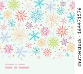 Colorful Doodle Snowflakes...