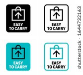 easy to carry information sign | Shutterstock .eps vector #1644732163