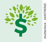 green deal. conceptual... | Shutterstock .eps vector #1644740560