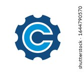 c logo can be used for company  ...   Shutterstock .eps vector #1644790570