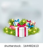 christmas gifts   Shutterstock .eps vector #164482613