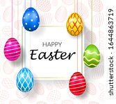 Happy Easter Background ...