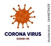 corona virus   covid 19 virus... | Shutterstock .eps vector #1644870439